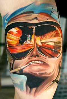 Realistic tattoo's by Todo Atlanta Georgia and Huntington Beach California