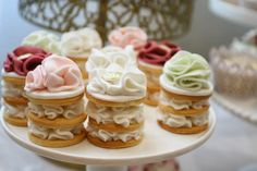 Little Big Company | The Blog: Beautiful Roses and Birdcages Themed Dessert Table by Cakes by Joanne Charmand