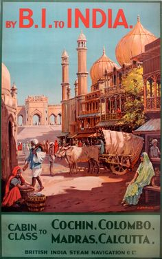 British India Steam Navigation Co. poster