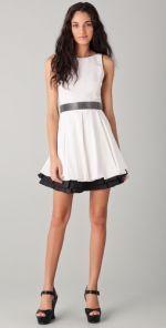 Poof Skirt Dress