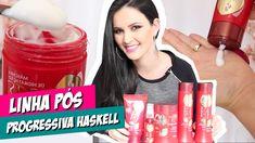 LINHA PÓS PROGRESSIVA HASKELL - CABELO LISO POR MAIS TEMPO!!! por Julia ...