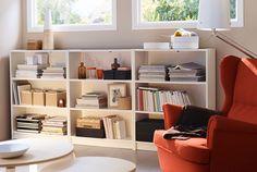 Image result for billy bookcase dining room shelves