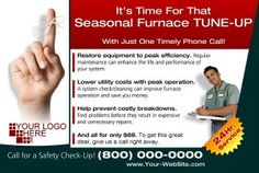 "5 Tune Up Postcard ""Musts"" During This Air Conditioning Season on http://www.footbridgemedia.com/contractor_marketing"