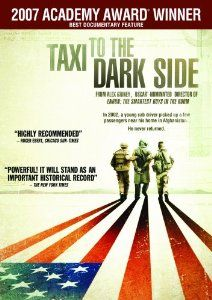 Taxi to the Dark Side. I saw some amazing clips at NYCDocFest and need to see the rest. Editor Sloane Klevin and director Alex Gibney also spoke about it.