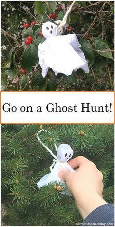 simple kids #Halloween activity -- Go on a candy ghost hunt! #halloweentheme