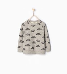 Image 1 of Cars sweatshirt from Zara