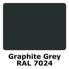 RAL 7024 Polyester Pigment - Graphite Grey
