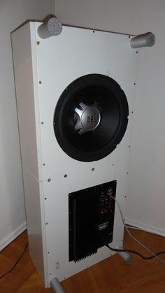 Tucked away subwoofer