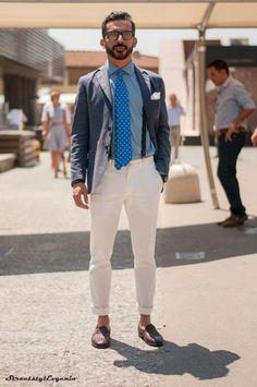 calça branca masculina como usar - Pesquisa Google