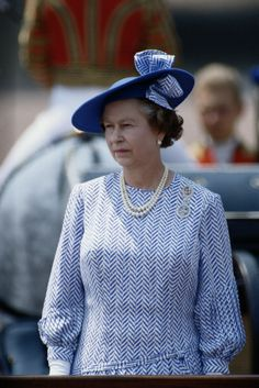 Queen Elizabeth, June 17, 1989