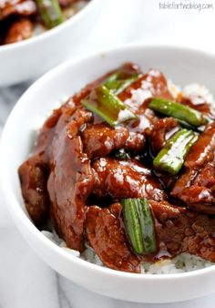 "Take-Out, Fake-Out: Mongolian Beef. It took longer than the recipe says and it was an absolute mess but it was delicious. ""The best Chinese I've had in a long time,"" said Cory."