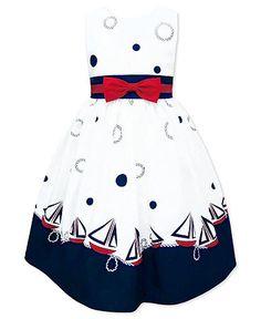Jayne Copeland Girls Dress, Little Girls Sailor Dress Web ID: 796000 Kids Outfits Girls, Little Dresses, Little Girl Dresses, Girl Outfits, Kids Girls, Girls Formal Dresses, Cute Dresses, Mom Dress, Baby Dress