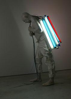 Bernardi Roig. Light art installation