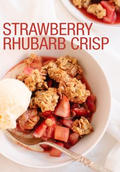 The sweetness of the strawberries really make this dish pop!