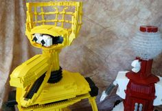 Mystery Science Theater Bots -- Now in Lego [PICS]