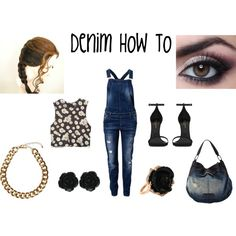 """Denim How To"" by yoshi11419 on Polyvore"