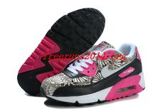 D07t54 Black Pink Nike Air Max 90 Liberty #Womens #Shoes  #nike #shoe
