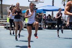 High knee run, GO! Best way to finish #BODYATTACK !