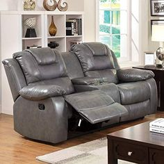 New Furniture of America Steely 2-Recliner Love Seat. Living Room Furniture [$984.8]theveryhotnew