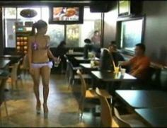 Bikini Baristas Cafe Di Vang 2 in Vietnam Serves Coffee With a Side of Skin Coffee House Cafe, Container Cafe, Unique Restaurants, Vietnam, Bikinis, Baristas, Bikini, Bikini Tops