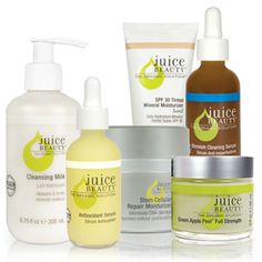 Juice Beauty - I am very picky about my cosmetics but this stuff is awesome for an organic line!  Addicted right now!