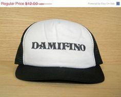 SALE Vintage Funny Snapback Mesh Trucker Hat