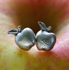 Tiny Apple Post Earrings by Amano Studio - SET & STYLE