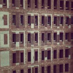ralfvdz's photo - The patch design masonry makes the building less massive and more playful