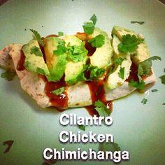 Tone It Up - Recipe Profile - Cilantro Chicken Chimichangas