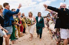 Alex and Jayne's fabulous beach wedding. Many thanks to Paul for the fab photos @albionrow