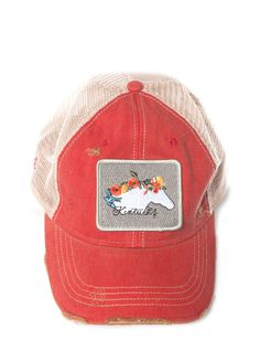 Judith March Kentucky Horse Hat (Red)