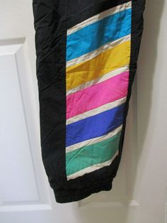 Vtg 80s Tyrolia Black - NEON Pants Ski Snow Active Womens 12 Snowboard Pants - neon colors: Green/Blue/Purple, Pink, Yellow/Green, White. CELTECH: Shuts out rain and wind yet is breathable allowing both moisture vapor and air to escape. | eBay!