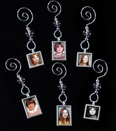 Through The Years Picture Ornament Kit - Makes 12