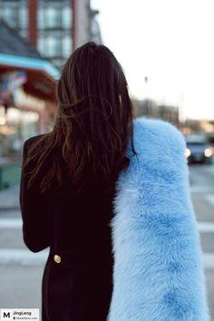 Blue tail.🤓 #fendi #fendifur #blue #bluefur #fendiscarf #furry #furryscarf #furrytail #fashionfury #fashionfur #luxuryfur #styleinspiration #stylefashion #saintlaurent #saintlaurentcoat #streetwear #streetstyle #streetfashion #furlove #furlovers #fashionblogger #modesens #modesensmoment photo by  @lunuo  from @JingLeng's closet