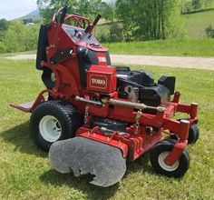 2012 Toro Grand Stand On Commercial Hydro Zero Turn Lawn Mower Stander. Lawn And Garden, Garden Tools, Bobcat Equipment, Zero Turn Lawn Mowers, Used Construction Equipment, Rotary Mower, Equipment For Sale, Lawn Care, Outdoor Gardens