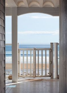 Cape Cod view.. who cares what the inside of the house looks like.