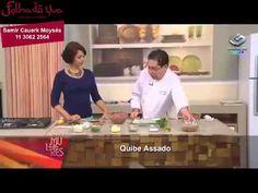 Restaurante Folha de Uva - Chef Samir Cauerk Moysés - Kibe de Forno
