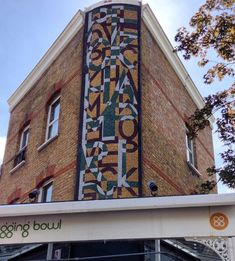 Peckham Pride Mosaic – design by Tom Phillips RA, mosaic by Gary Drostle and Rob Turner.