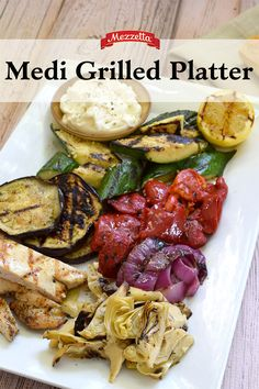 Barbecuing this summer? Whip up this Mezzetta Medi Grilled Platter for your friends and family. Learn how and get grilling at your next backyard soiree.
