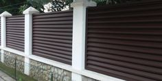 Lucrari garduri si porti metalice MODERNE SI REZISTENTE Boundary Walls, Design Case, Home Fashion, Blinds, Exterior, Windows, Curtains, House Styles, Metal