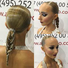 "34 Likes, 2 Comments - Evgeniia Arbuzova (@evgenabuz_style) on Instagram: ""The process of creating beauty. Hairstyle by me#evgenabuzstyle#ballroom #ballroomdance…"""
