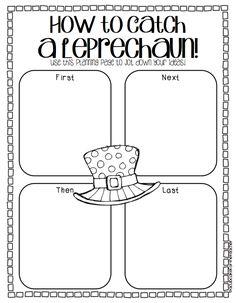 A Cupcake for the Teacher: Catch a Leprechaun {a Writing Craftivity}
