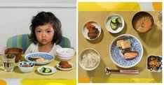 sonra memlekette ineğe benzemeyen insan bulmak için yırtınıyoruz ama ya o ne ooo :/ Photos Of International Kids Reveal What They Eat For Breakfast Around The World