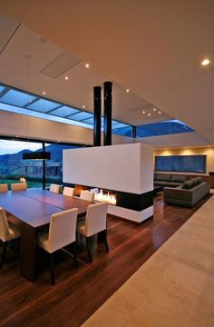 Get inspired with these 21 modern living room designs for a remodeling . - Get inspiration for a remodel with these 21 modern living room designs – insp - Ideen Wohnzimmer modern Modern House Design, Modern Interior Design, Home Design, Interior Architecture, Design Ideas, Modern Interiors, Modern Houses, Design Design, Installation Architecture