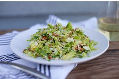 Bacon & Brussel Sprout Salad (Side Dish)
