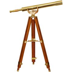 @Overstock - Enjoy a functional decorative addition to your decor when you add this elegant brass telescope from Barska to your home. The telescope is mounted onto a mahogany tripod with legs that can be adjusted to place the eyepiece at an easily usable height.http://www.overstock.com/Sports-Toys/BARSKAs-Handcrafted-Brass-Telescope-with-Tripod/3229810/product.html?CID=214117 Add to cart to see special price