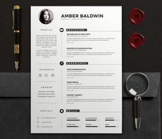 Professional Resume  Cv   Pieces  Professional Resume And