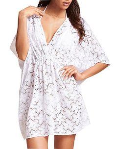 Womens Swimwear Beachwear Bikini Beach Wear Cover up Kaftan Summer Shirt Dress Price:CDN$ 8.00 [CANADA]