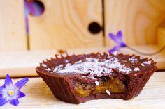 Raw choklad med karamellfyllning – chocolate caramel cups (no bake, raw) | Hälsa som livsstil | Bloglovin'