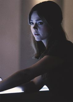 "Clara Oswald still from the upcoming ""Dark Water"""